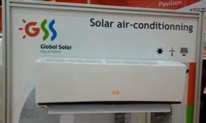 GSS air conditioning display at WETEX 2018 Dubai